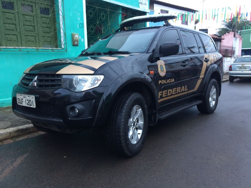 Operação da Polícia Federal em Salvador (Foto: Divulgação/Polícia Federal)