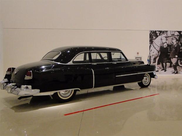 Cadillac 1951 usado por Eva Perón (Foto: Divulgação)