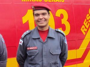 Capitão foi diagnosticado com doença em janeiro (Foto: 8ºBBM/ Arquivo)