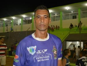 Jogador do Ariquemes, Kastor (Foto: Matheus Henrique)