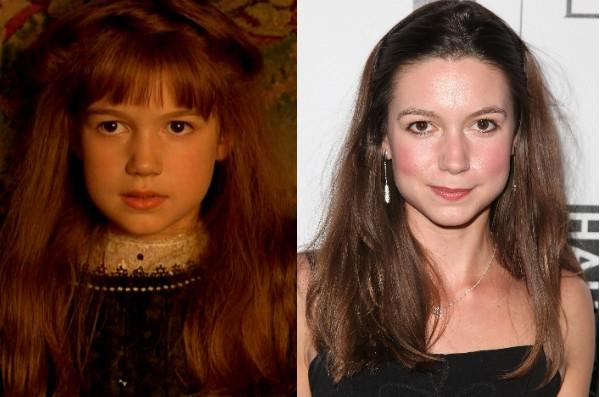 """Kate Maverly também é conhecida como """"a garotinha de 'O Jardim Secreto""""', de 1993 (Foto: Getty Images/Reprodução)"""