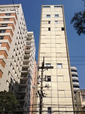 Cinco apartamentos de prédio na Alameda Lorena foi roubados (Foto: Rafael Sette Câmara/G1)