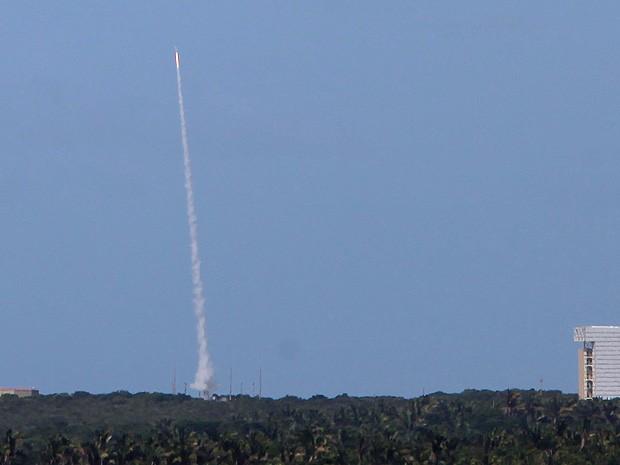 CLA lança foguete de treinamento nesta sexta-feira (30) (Foto: Biaman Prado / O Estado)