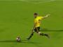 Rafael Costa, do São Bernardo, marca golaço e vence pintura da rodada