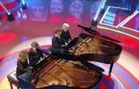 Irene, Eneida, Célia e Elizabeth arrasam tocando piano