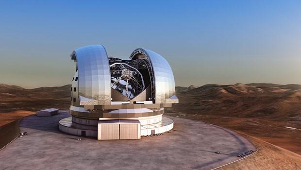 Telescópio gigante mostrará fotos 15 vezes maiores do que as do Hubble (Foto: BBC)