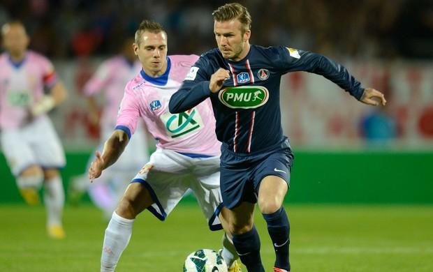 Beckham, Evian x PSG (Foto: AFP)