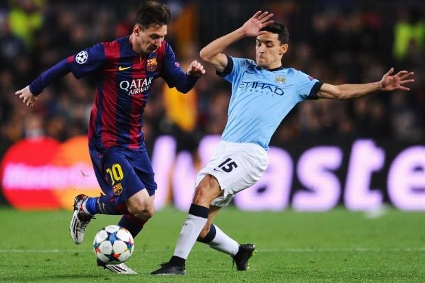 Barcelona e Manchester City vão se enfrentar pela fase de grupos da UEFA Champions League 2016/17 (Foto: David Ramos/Getty Images)