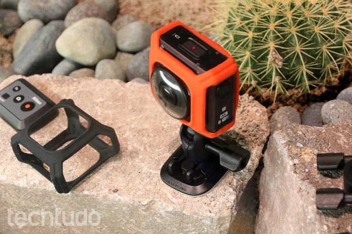 Câmera Nikon Keymission 360 (Foto: Thássius Veloso / TechTudo)