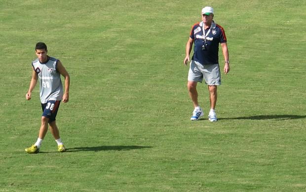 Abel Braga Fluminense treino (Foto: Thiago Benevenutte)