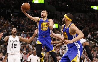 Warriors superam apagão, pulverizam desvantagem e desbancam os Spurs