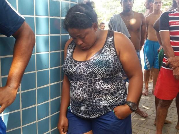 Aldenira Souza Ramos acompanhou drama do marido e dos filhos (Foto: Marlon Costa/Pernambuco Press)