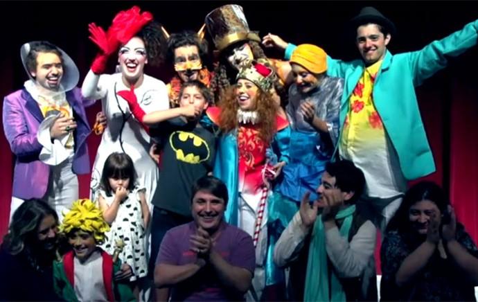 Veja como foi a estreia da peça O Pequeno Príncipe (Foto: Reprodução/RPC)