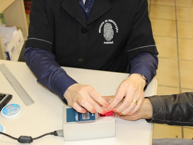 O Instituto de Identificação produz mais de 2 mil carteiras de identidades por dia (Foto:  Divulgação / Polícia Civil)