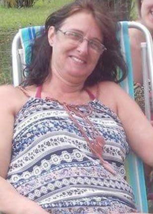 Andréa Costa da Silva foi morta ao sair do carro em São Leopoldo (Foto: Arquivo Pessoal)