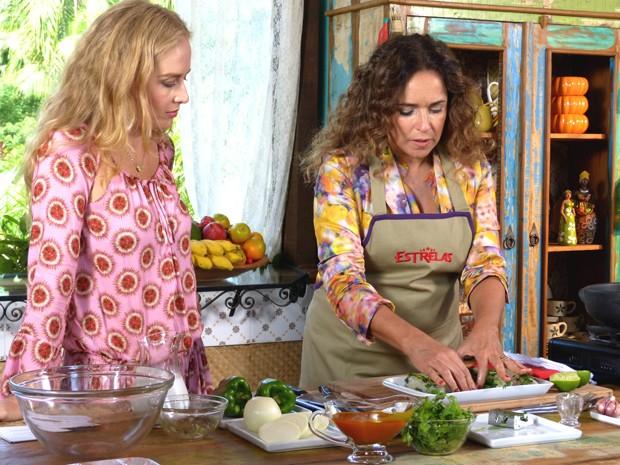 Angélica e Daniela Mercury (Foto: Estrelas/TV Globo)