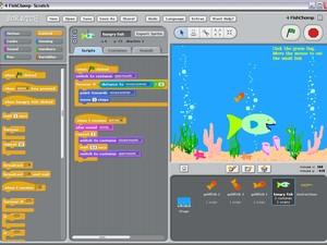 Com a ferramenta, alunos podem criar jogos e programas (Foto: Reprodução)