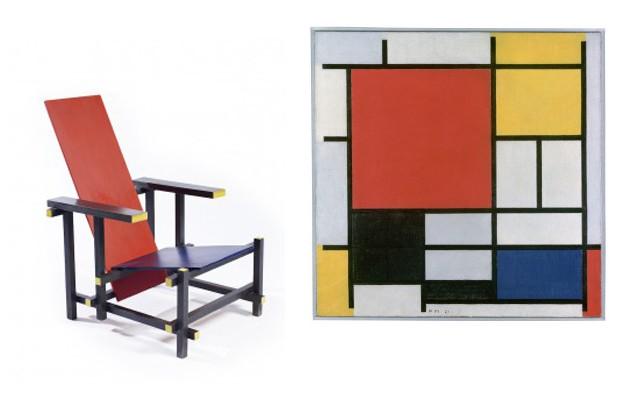 De Stijl e Mondrian (Foto: Divulgação)