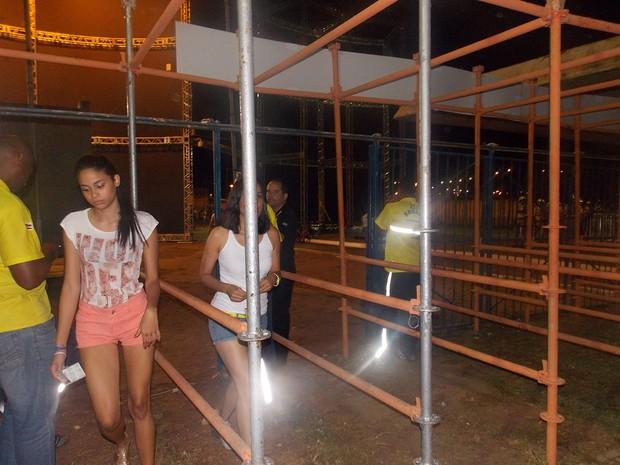 Abertura dos portões do Festival de Verão (Foto: Maiana Belo/G1)