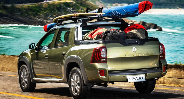 Renault Duster Oroch (Foto: Marcos Camargo/Autoesporte)