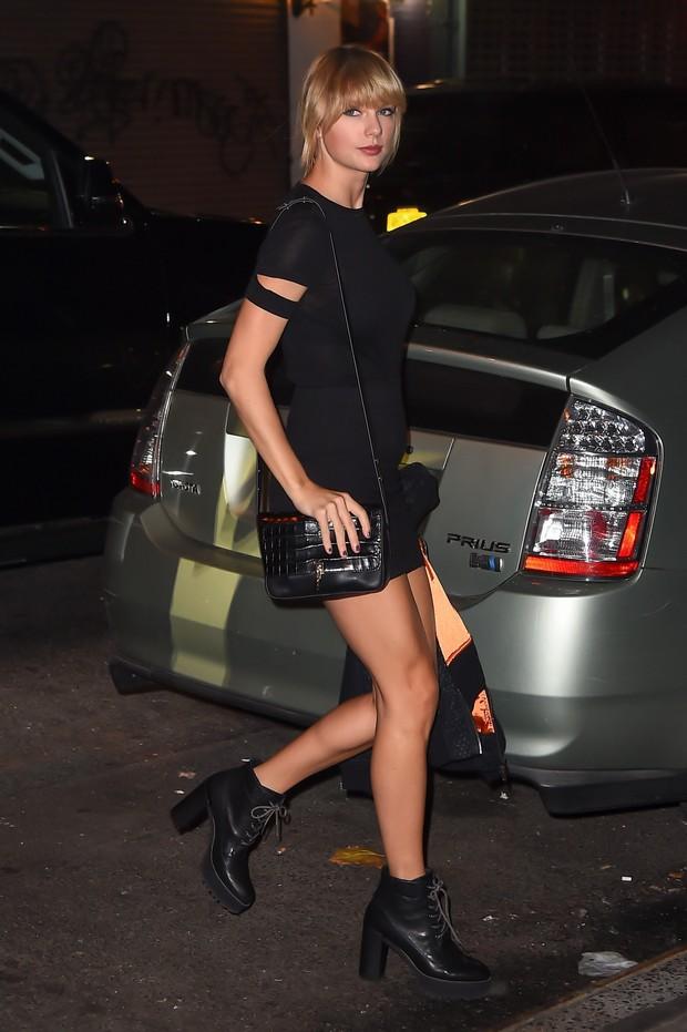 Taylor Swift em Nova York, nos Estados Unidos (Foto: AKM-GSI/ Agência)