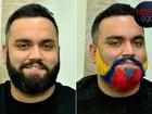 Barba colorida: repórter do EGO adere à nova mania e radicaliza o visual