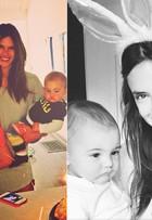 Veja as modelos que, além de arrasarem nas passarelas e campanhas, também são mães