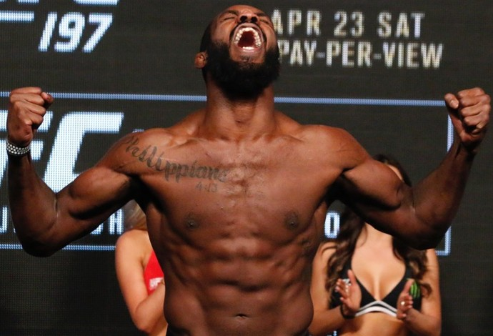 Pesagem Jon Jones UFC 197 (Foto: Evelyn Rodrigues)