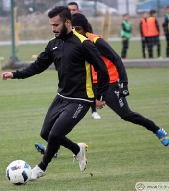 Felipe Brisola retorna aos treinos do Botev Plovdiv (Foto: Divulgação/Botev Plovdiv)