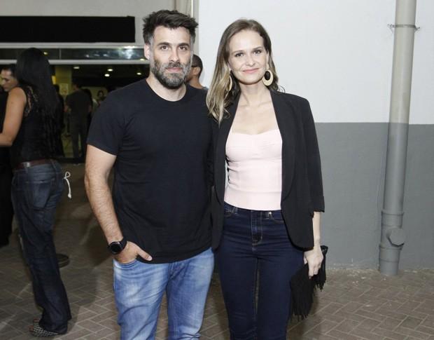 Fernanda Rodrigues e Raoni Carneiro (Foto: Thyago Andrade/Brazil News)