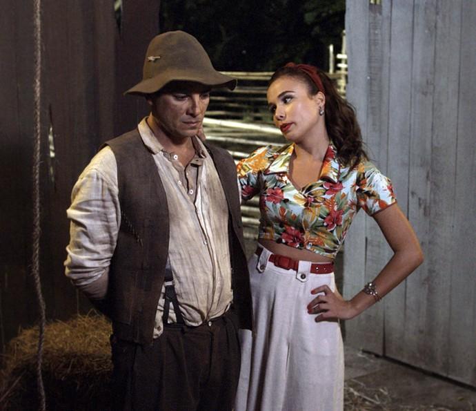 Sarita propõe aliança a Zé (Foto: TV Globo)