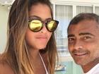 Danielle Favatto fala sobre Romário após elogios na web: 'Acostumado'