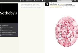 Sotheby's afirma que valor obtido é novo recorde para um diamante (Foto: Reprodução)