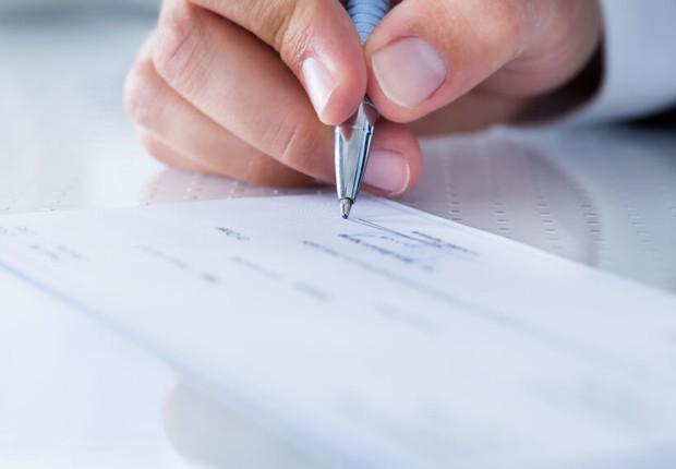 Cheque devolvido ; inadimplência ; Serasa ; cheques devolvidos ;  (Foto: Fotos Públicas)