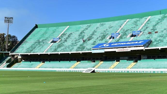 Brinco de Ouro, estádio Guarani (Foto: Marcos Ribolli/GloboEsporte.com)