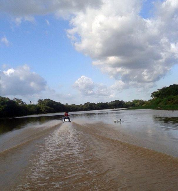 Rio Poty, em Teresina - Piauí.  (Foto: TV Clube)