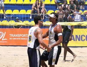 vôlei de praia Ricardo e Pedro Cunha (Foto: Helena Rebello / Globoesporte.com)