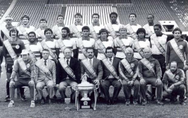 Elenco Coritiba campeão brasileiro 1985 (Foto: Divulgação / Site oficial do Coritiba)