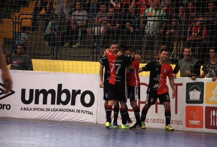 Xuxa Joinville x Minas Liga Nacional de Futsal (Foto: Divulgação/JEC)