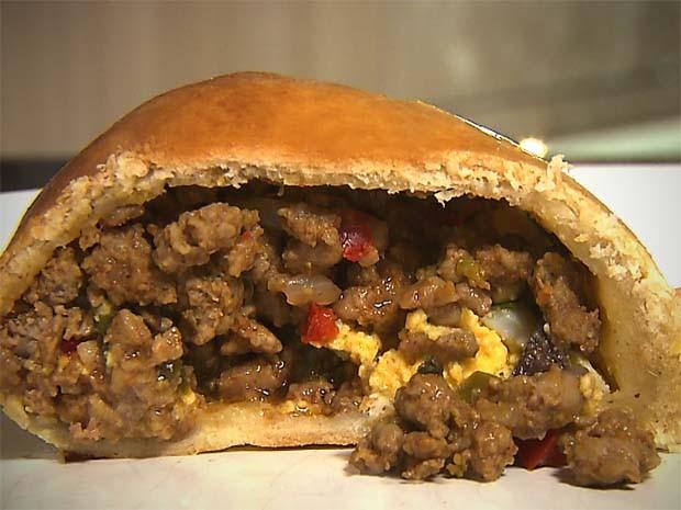 Empanadas chilenas preparadas no Chef JPB neste sábado (14) (Foto: Reprodução / TV Cabo Branco)