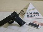 Menor de 12 anos é detido enquanto assaltava com arma de brinquedo