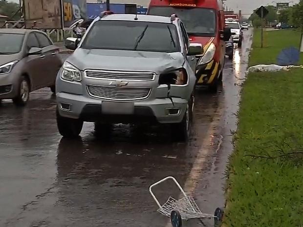 Notícias de Sinop : Idosa é atropelada ao atravessar faixa de pedestre e morre