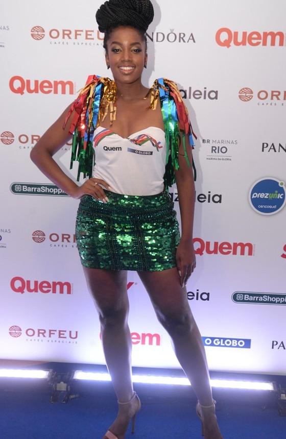 A cantora Iza, dona do hit Quem sabe sou eu (Foto: Revista Quem)