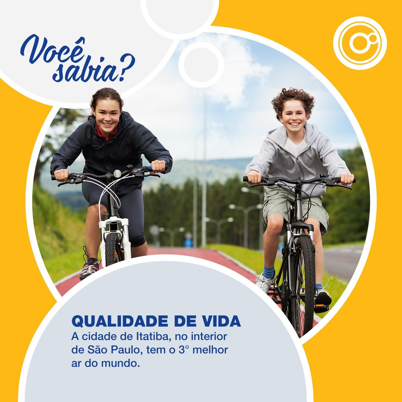 A qualidade de vida é um dos pontos altos do interior paulista (Foto: Reprodução/TV TEM)