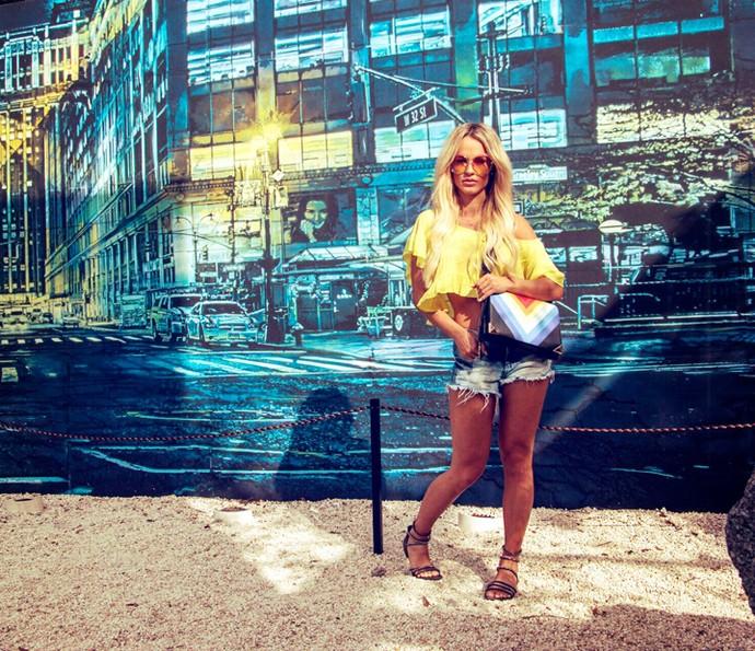 Bruna Padovani adora ir aos Estados Unidos (Foto: Jaci Coningham)