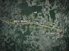 Ônibus cai de ponte e deixa feridos no interior do Pará