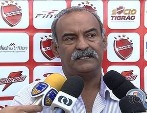 Joás Abrantes - presidente - Vila Nova (Foto: Reprodução / TV Anhanguera)