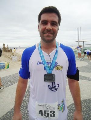 RIO UP RUN 2012 eu atleta (Foto: Bebel Clark / Globoesporte.com)