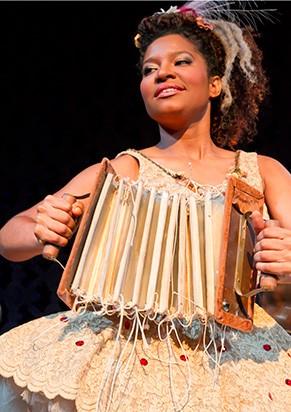 Larissa Luz, a ex-vocalista do Ara Ketu (Foto: Divulgação)