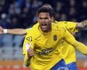 Willian José fura barreira com 10 na linha do gol e dá vitória ao Las Palmas